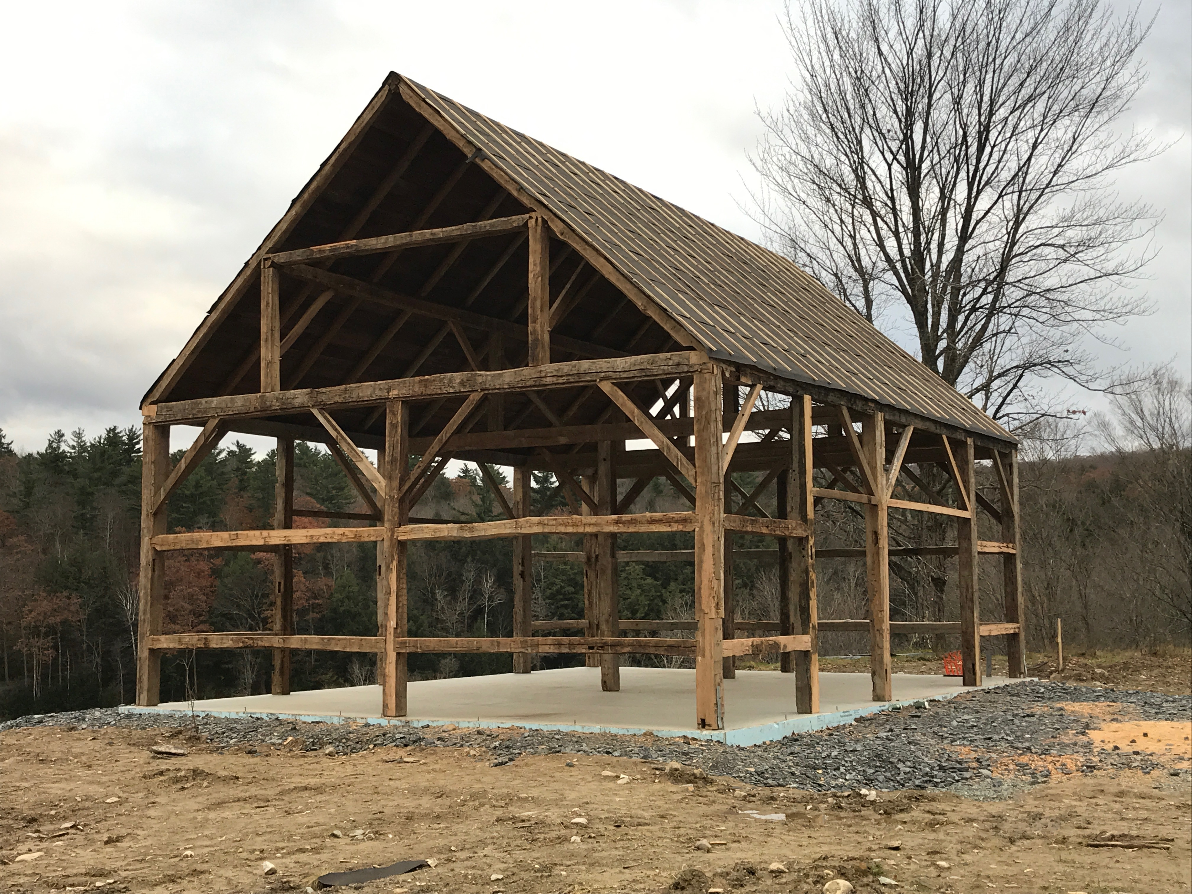 restoration barn home green mountain timber frames
