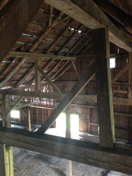 historic barn rafter support system green mountain timber frames