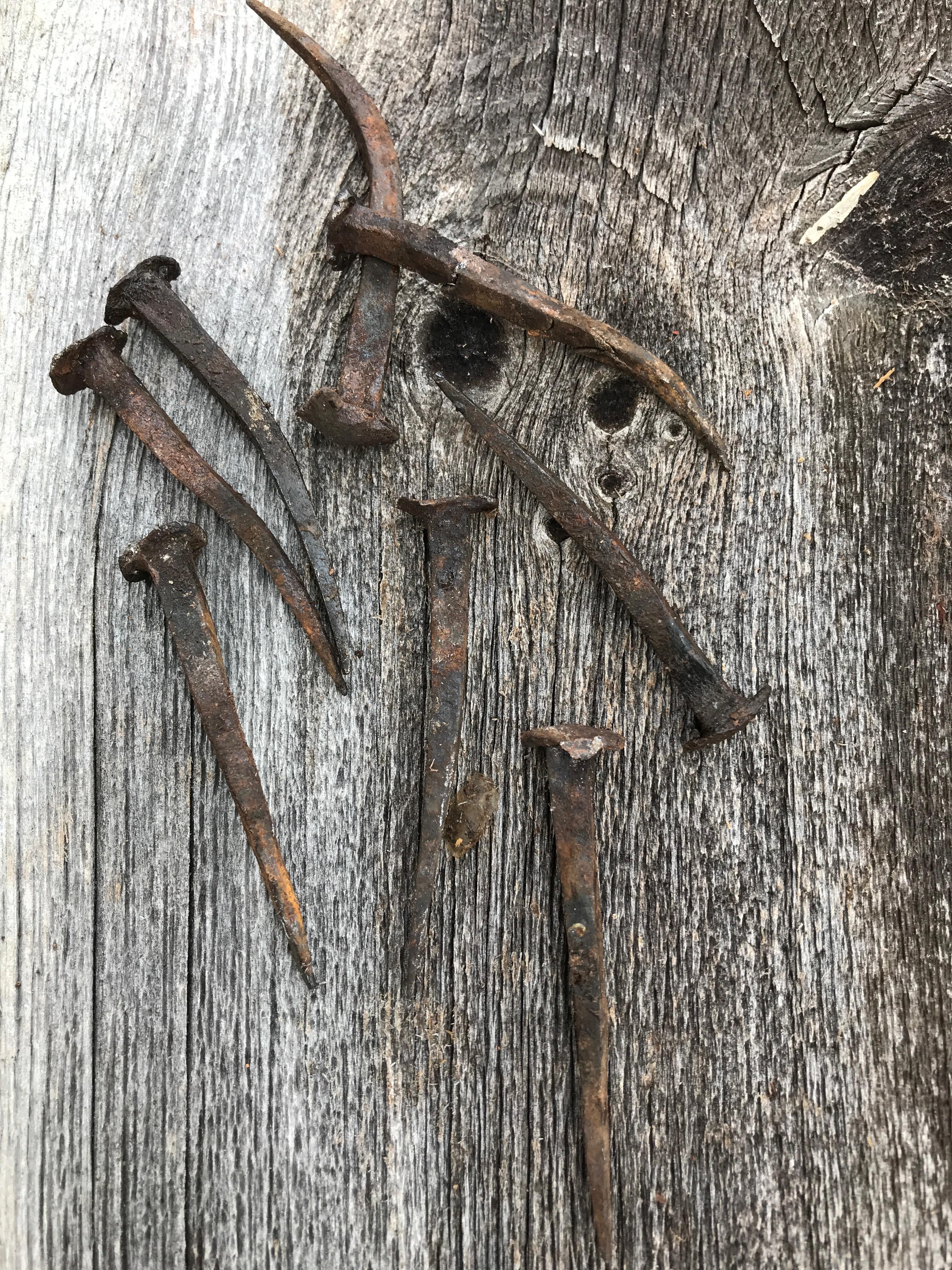 rosehead nails  |  rupert granary | green mountain timber frames