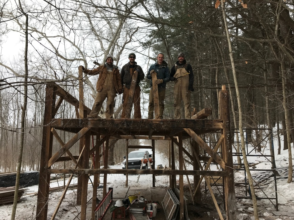 dismantling the trapper cabin corn crib barn for sale green mountain timber frames