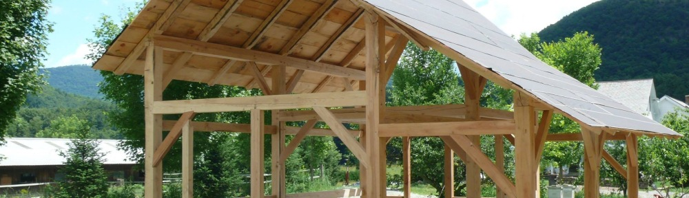 timber frame sugar house | Green mountain timber frames