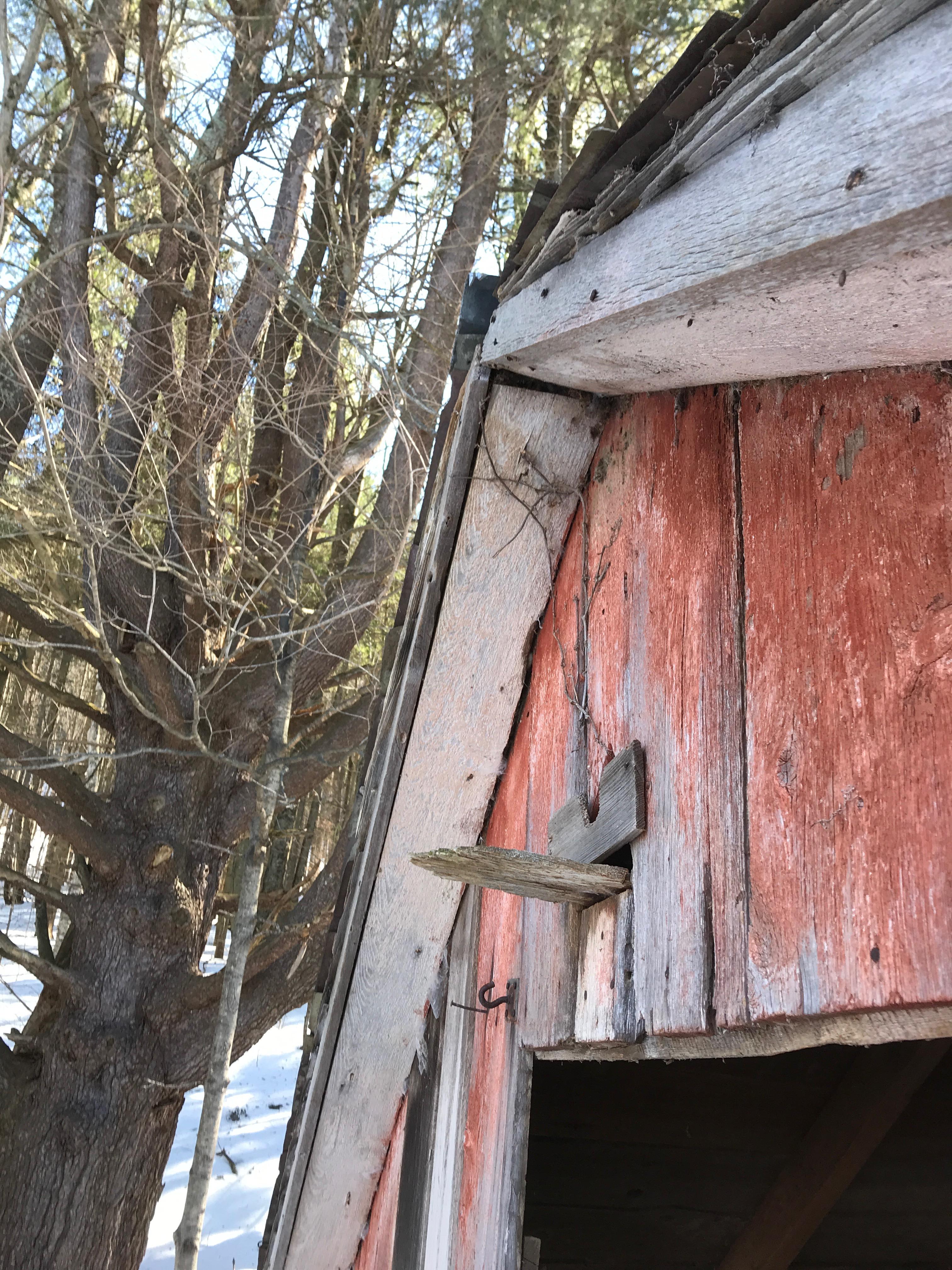 corn crib barn cabin | green mountain timber frames