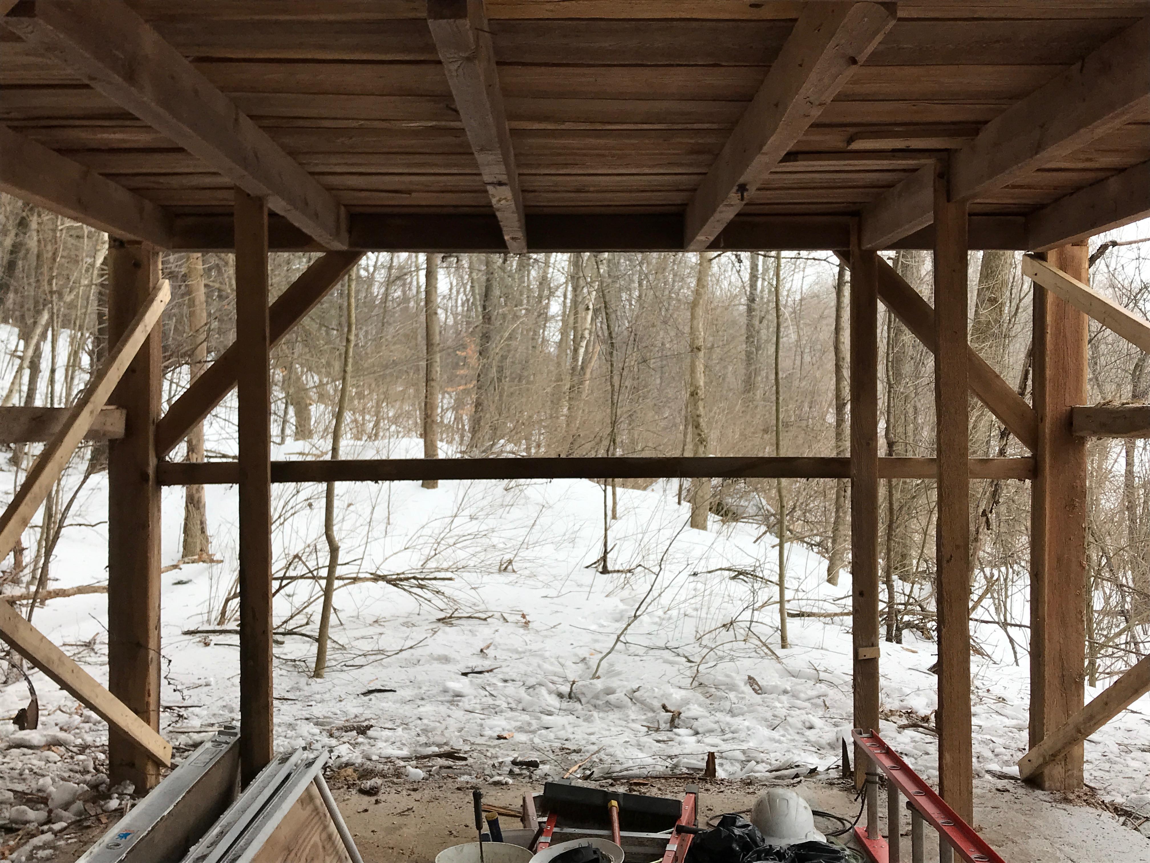 trapper cabin corn crib barn for sale