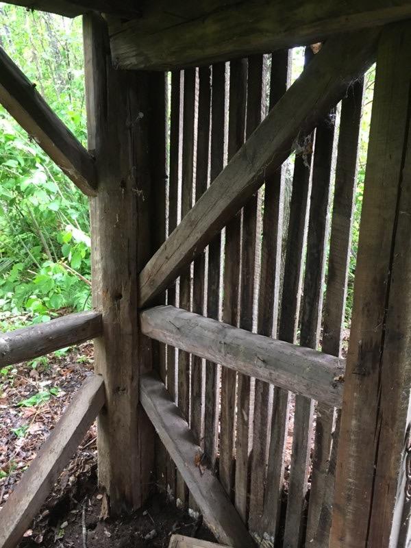 corn crib siding on the Waterford Corn Crib Green Mountain Timber Frames