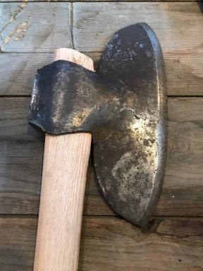 broadhead hewing axe green mountain timber frames