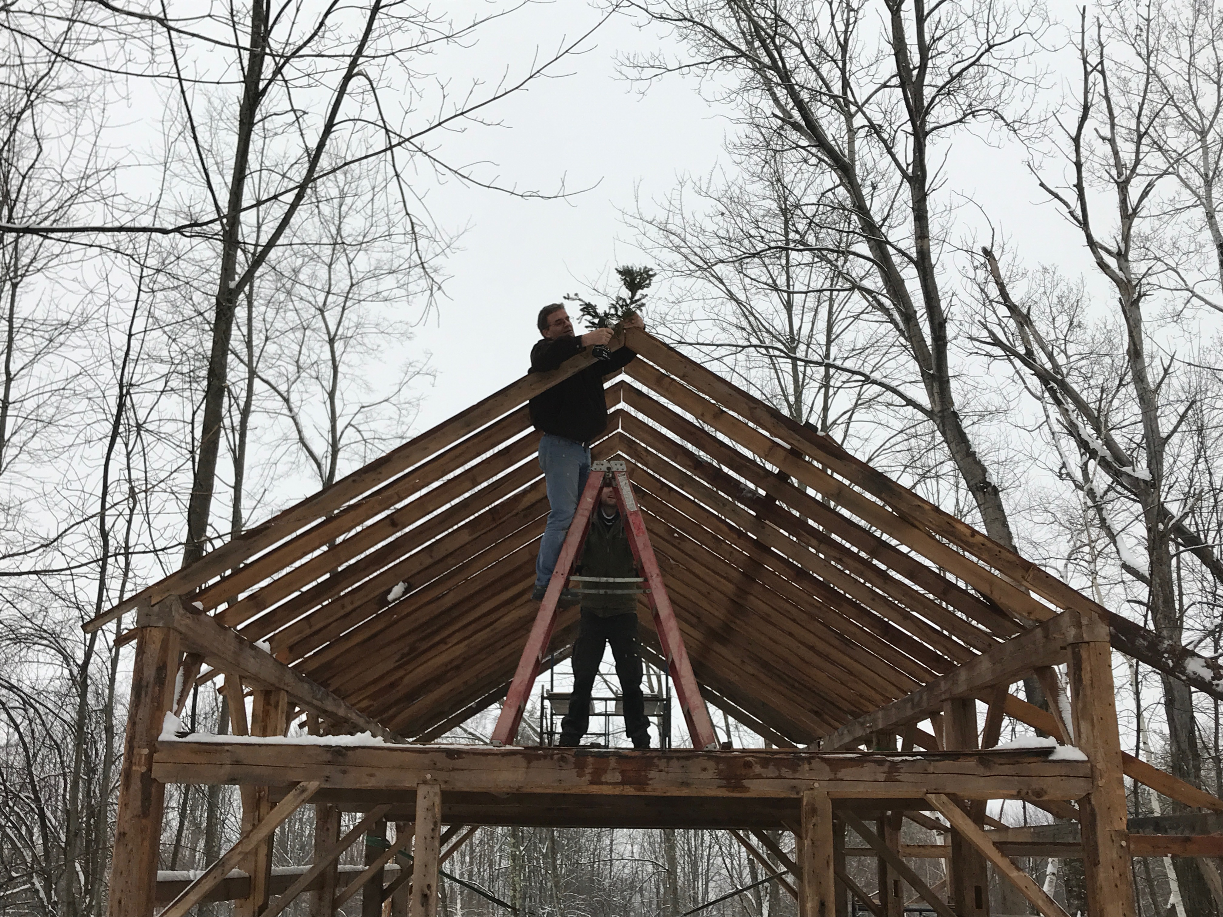 evergreen on atwater frame green mountain timber frames