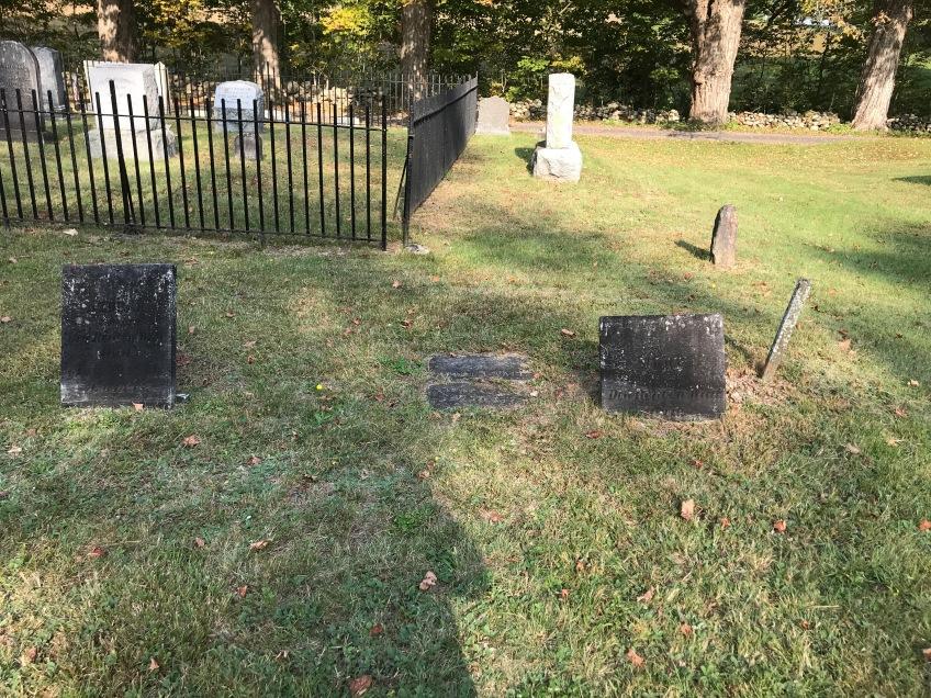 Vermont cemetery - graves of Waite family